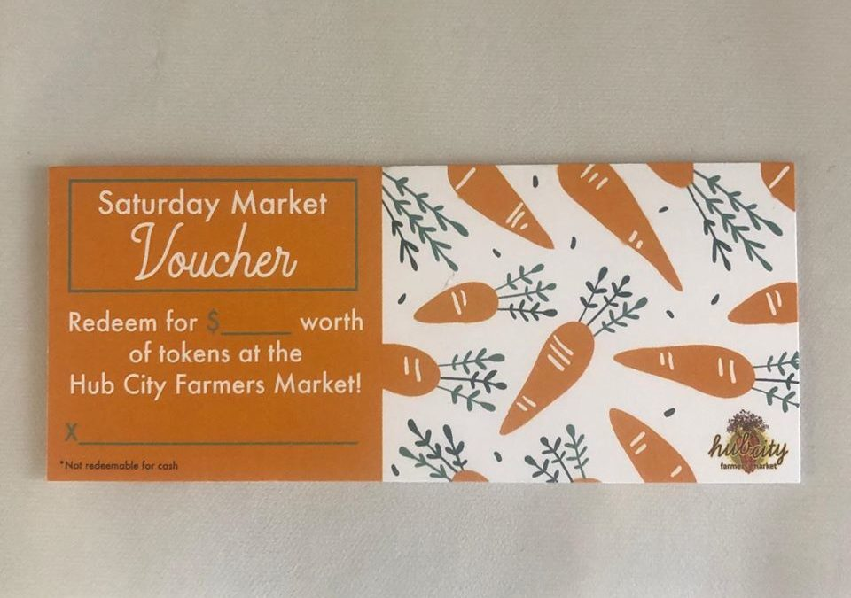 Hub City Farmers Market Vouchers